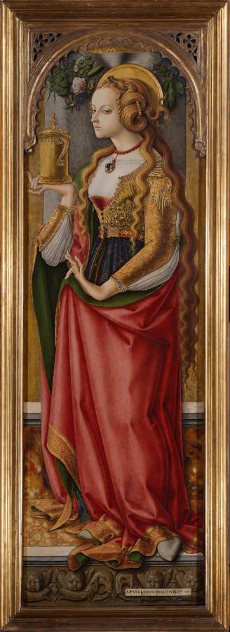 карло Crivelli-Magdalene ок. 1480