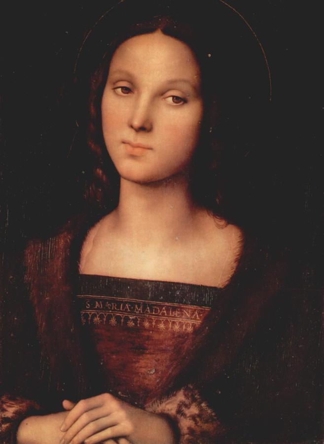 пьетро Perugino_Magdalene ок. 1500