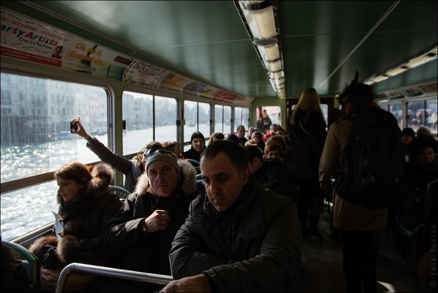 Гран-канал Венеции и его маршрутки... 7147