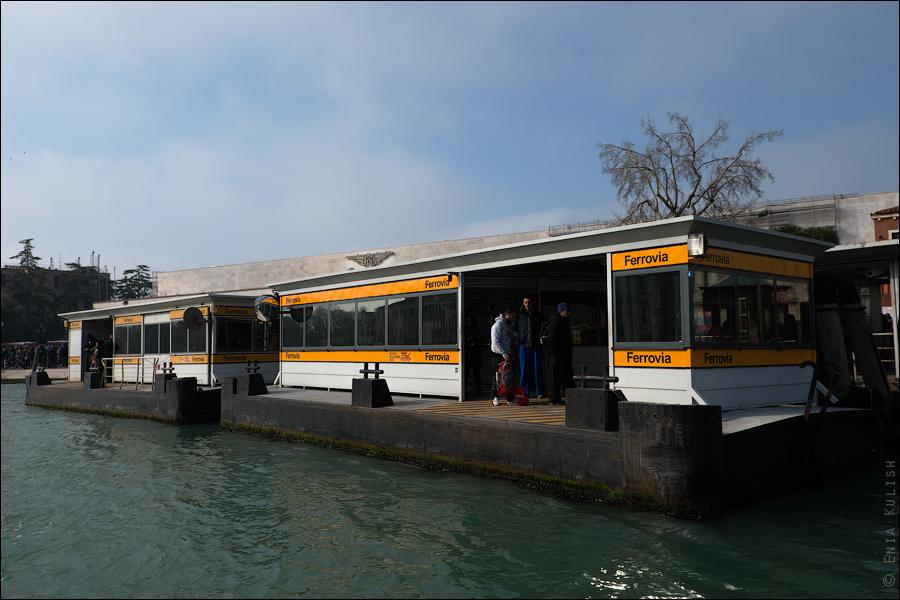 Гран-канал Венеции и его маршрутки... 7149