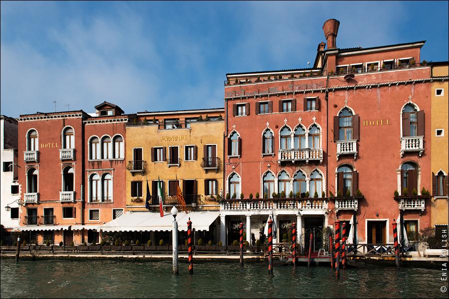 Гран-канал Венеции и его маршрутки... 7152