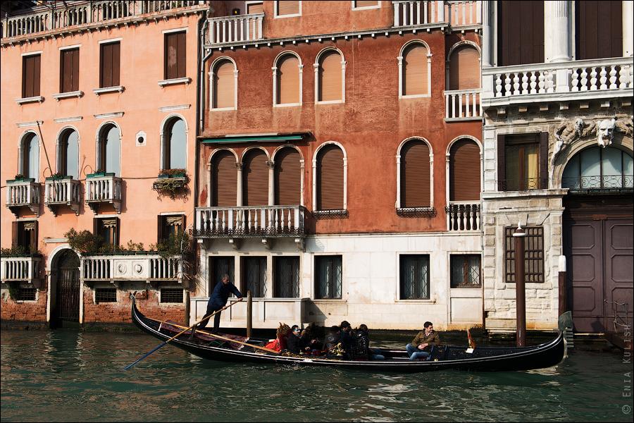 Гран-канал Венеции и его маршрутки... 7156