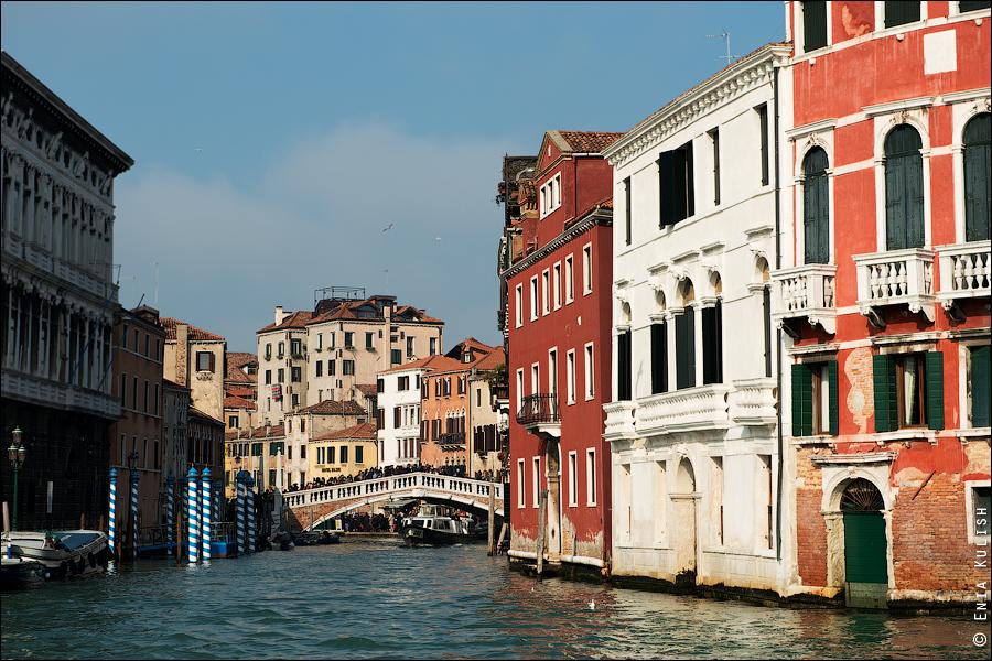 Гран-канал Венеции и его маршрутки... 7158