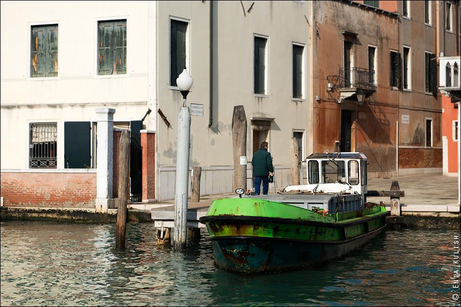 Гран-канал Венеции и его маршрутки... 7160