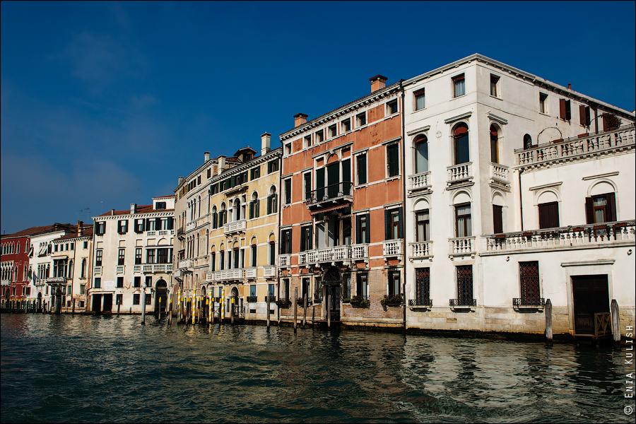 Гран-канал Венеции и его маршрутки... 7167