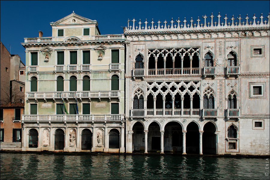 Гран-канал Венеции и его маршрутки... 7173