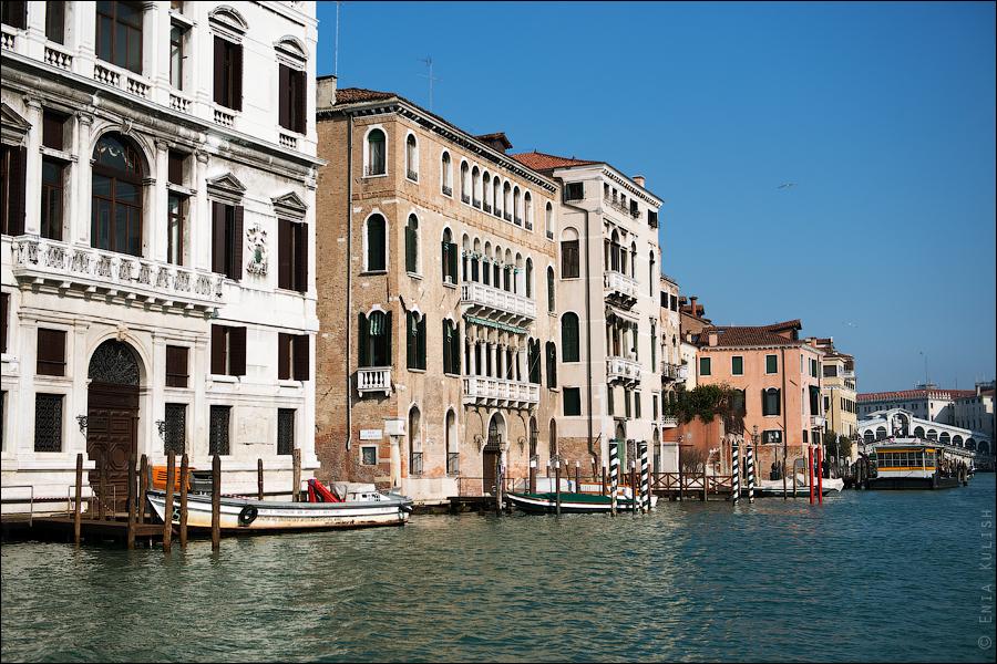 Гран-канал Венеции и его маршрутки... 7195