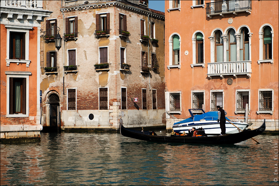Гран-канал Венеции и его маршрутки... 7200