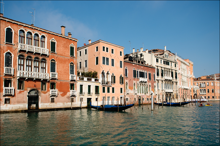 Гран-канал Венеции и его маршрутки... 7204