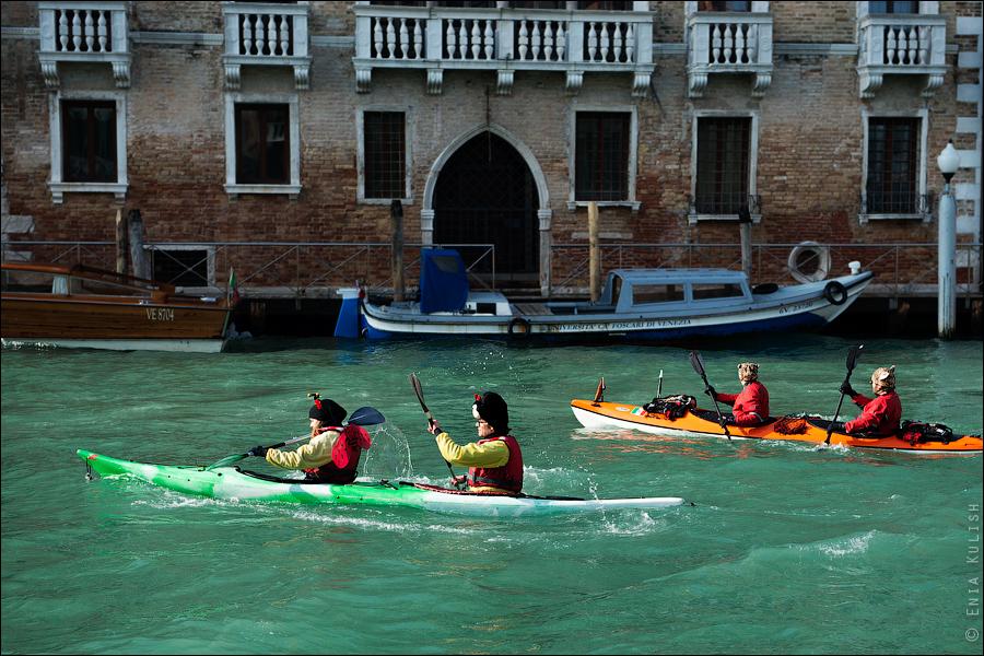 Гран-канал Венеции и его маршрутки... 7211