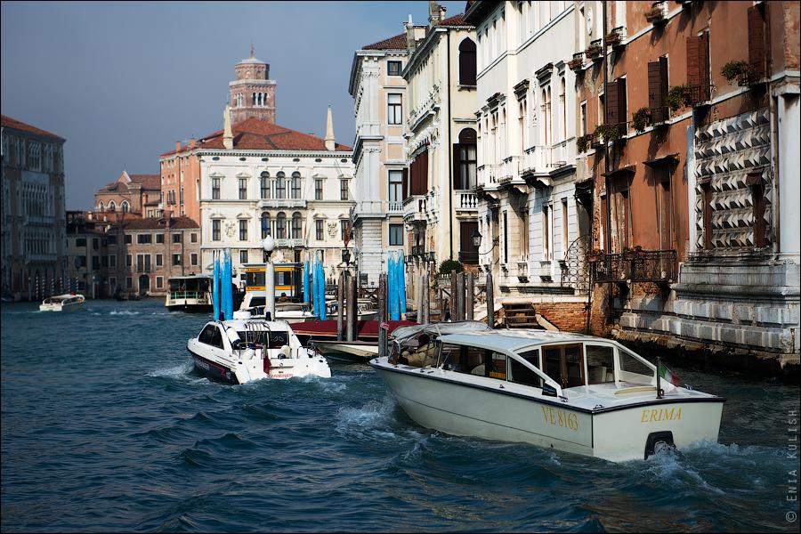 Гран-канал Венеции и его маршрутки... 7219