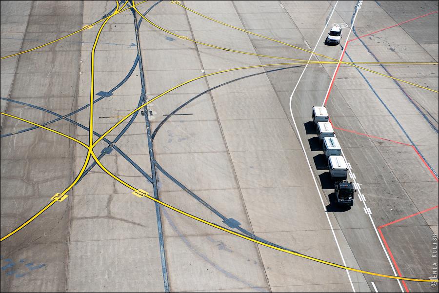 Аэропорт Домодедово: вид сверху... с вышки! 2643
