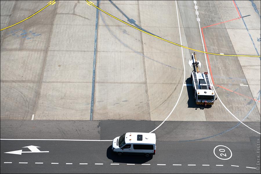 Аэропорт Домодедово: вид сверху... с вышки! 2646