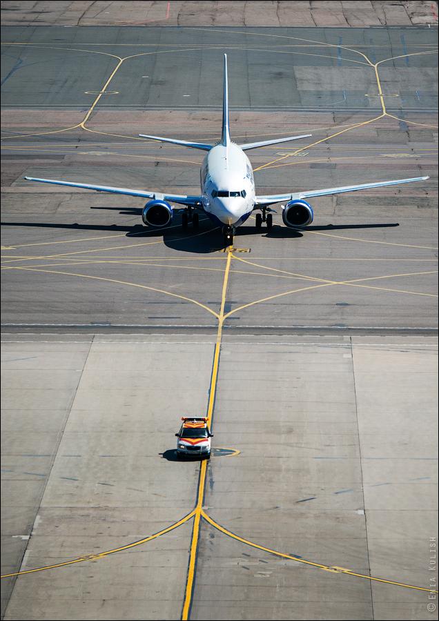 Аэропорт Домодедово: вид сверху... с вышки! 2655