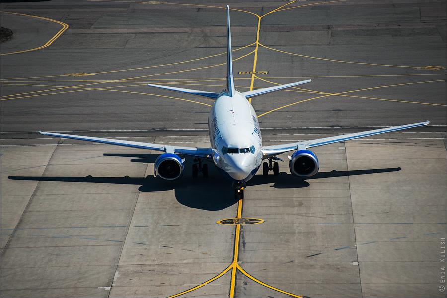 Аэропорт Домодедово: вид сверху... с вышки! 2659