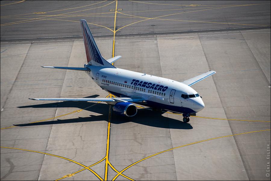 Аэропорт Домодедово: вид сверху... с вышки! 2663