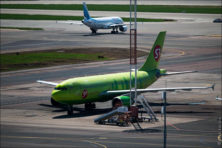 Аэропорт Домодедово: вид сверху... с вышки! 2665
