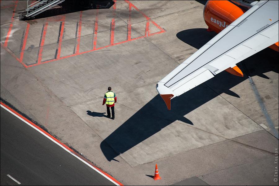 Аэропорт Домодедово: вид сверху... с вышки! 2676