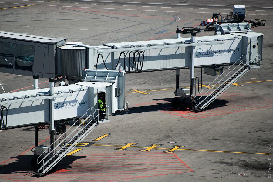 Аэропорт Домодедово: вид сверху... с вышки! 2699