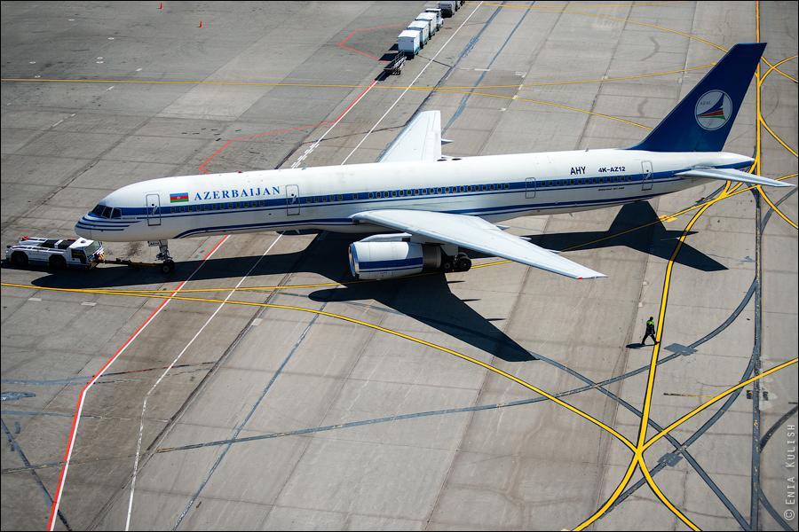 Аэропорт Домодедово: вид сверху... с вышки! 2708