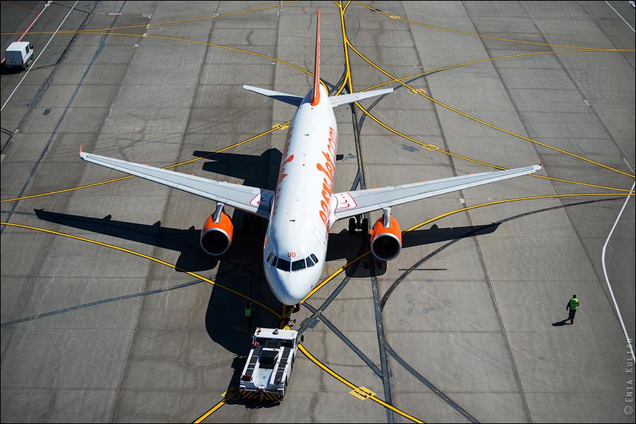 Аэропорт Домодедово: вид сверху... с вышки! 2715