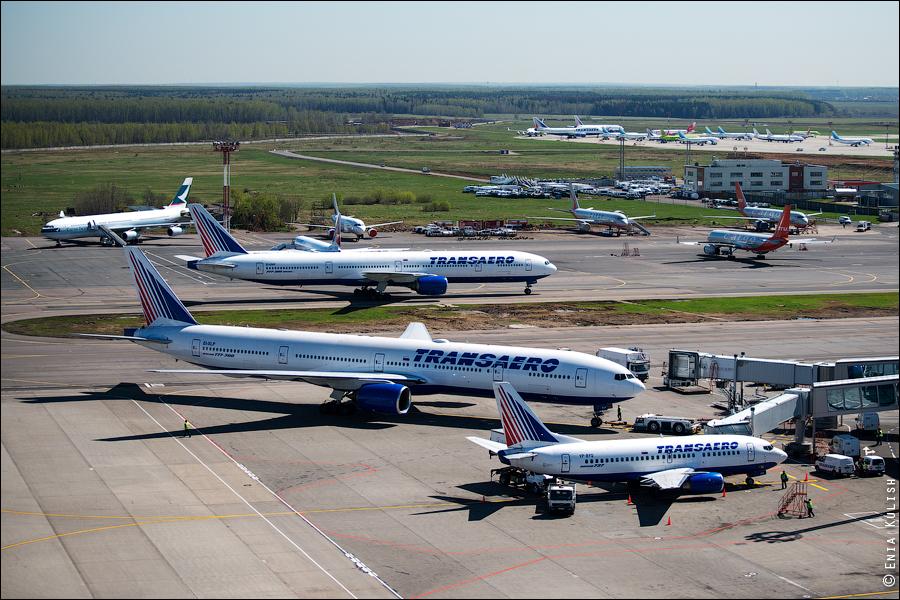 Аэропорт Домодедово: вид сверху... с вышки! 2720
