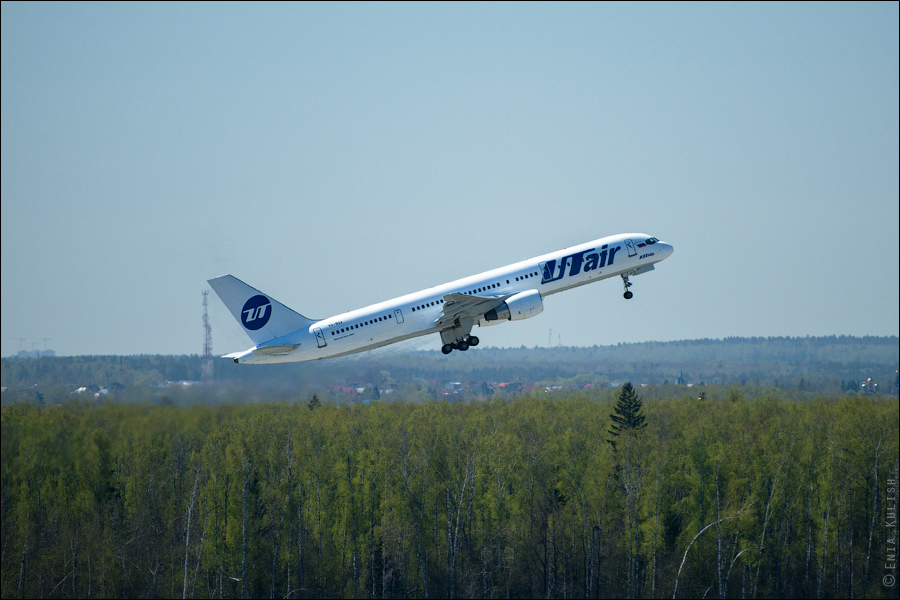 Аэропорт Домодедово: вид сверху... с вышки! 2672