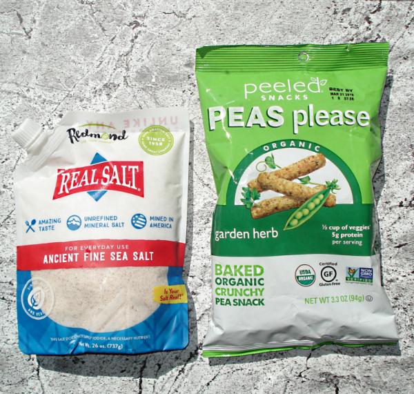 Новинка! Peeled Snacks, Organic, Peas Please, Garden Herb & Real Salt, Древняя