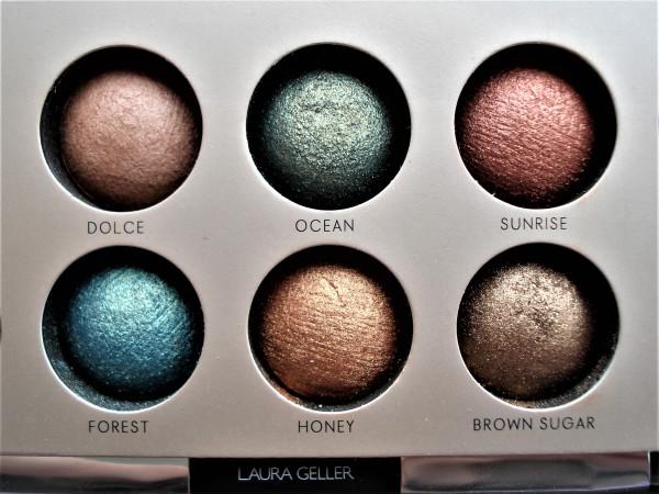 Laura Geller, The Delectables, палетка теней для век, красивые нюдовые оттенки,