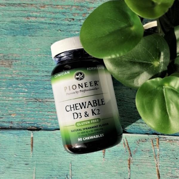 - 25% на Pioneer Nutritional Formulas, жевательные витамины D3 и K2,