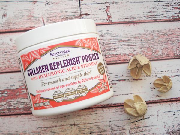 ReserveAge Nutrition, Collagen Replenish с гиалуроновой кислотой и витамином C,