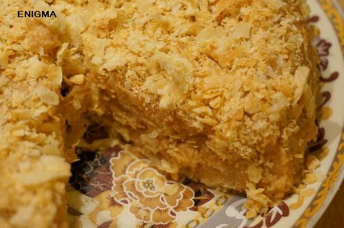 Торт наполеон за полчаса пошаговый рецепт