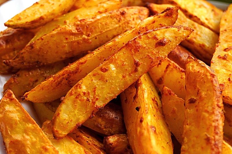 Картошка в духовке с яичным белком рецепт с пошагово