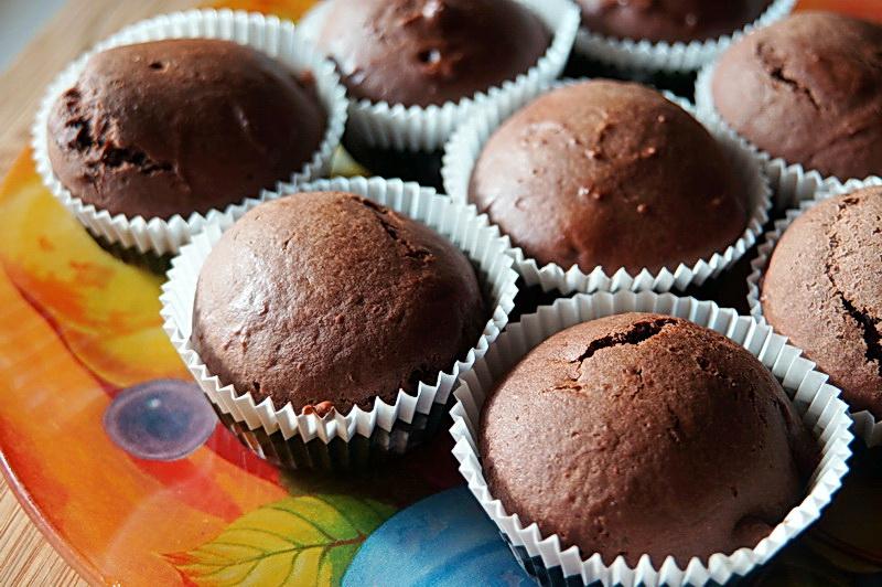 Шоколадные кексы с перцем чили
