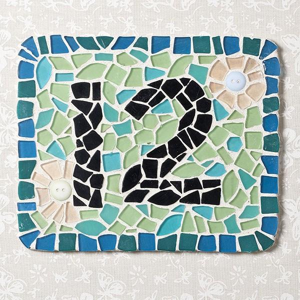 Мозаика на домах своими руками