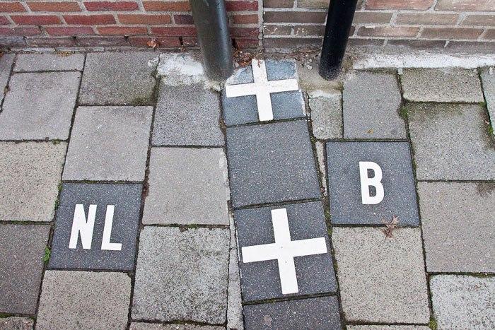 Одной ногой в Бельгии, другой – в Нидерландах!