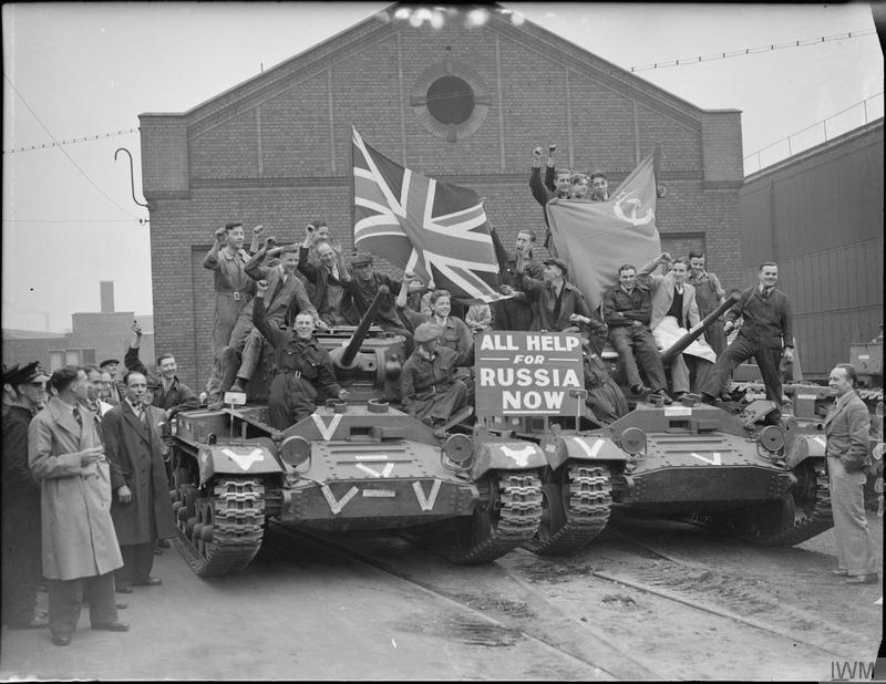Английские «валентинки» для Красной Армии