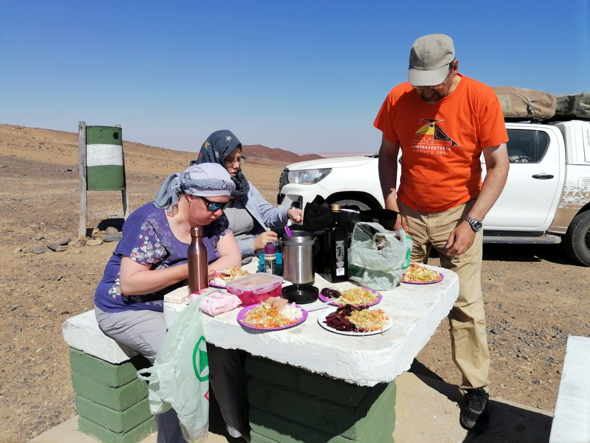 Вшестером по Намибии на джипах в пандемию