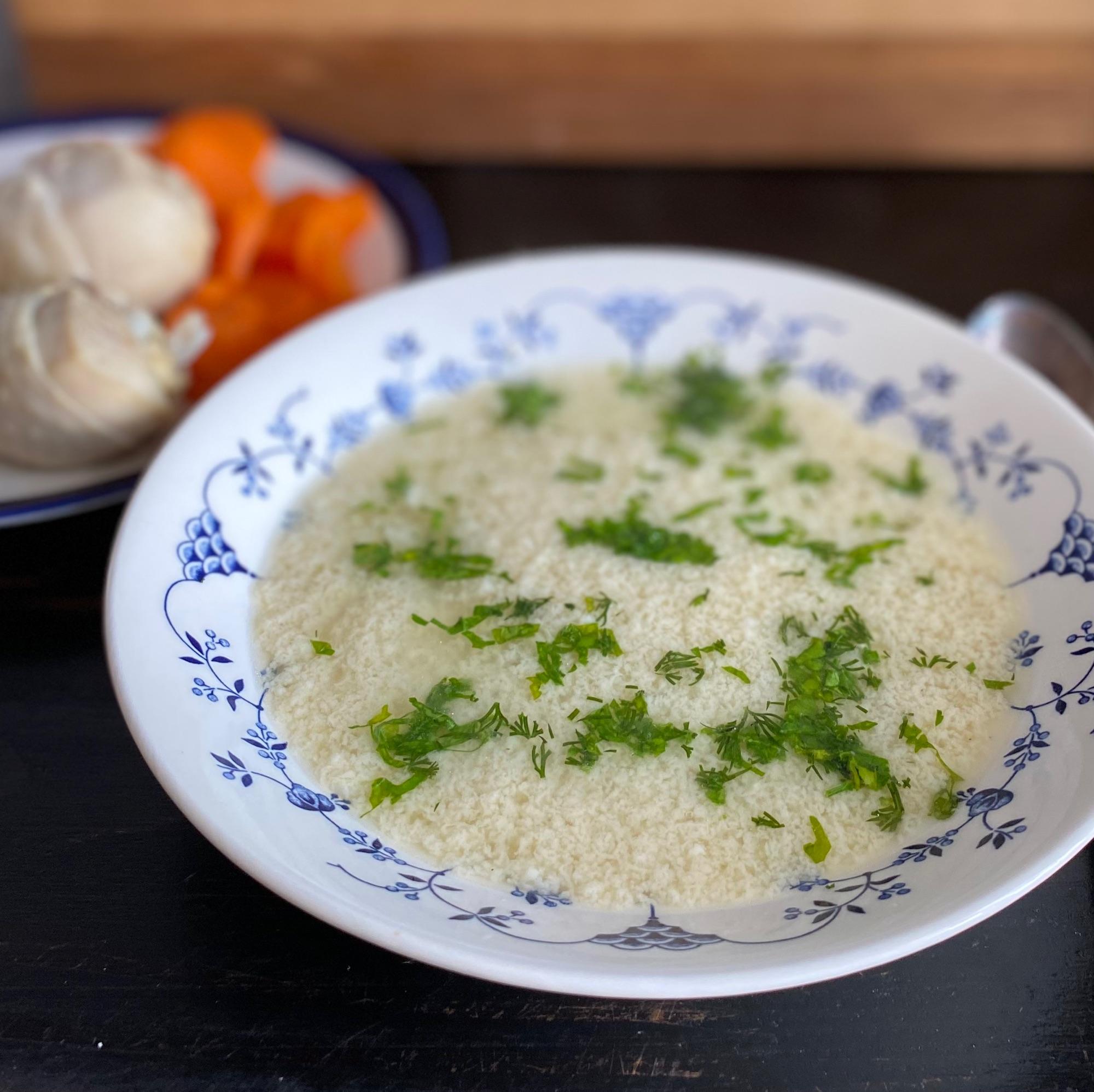 Легкий быстрый и вкусный суп, особенно при наличии хорошего кур ного бульона