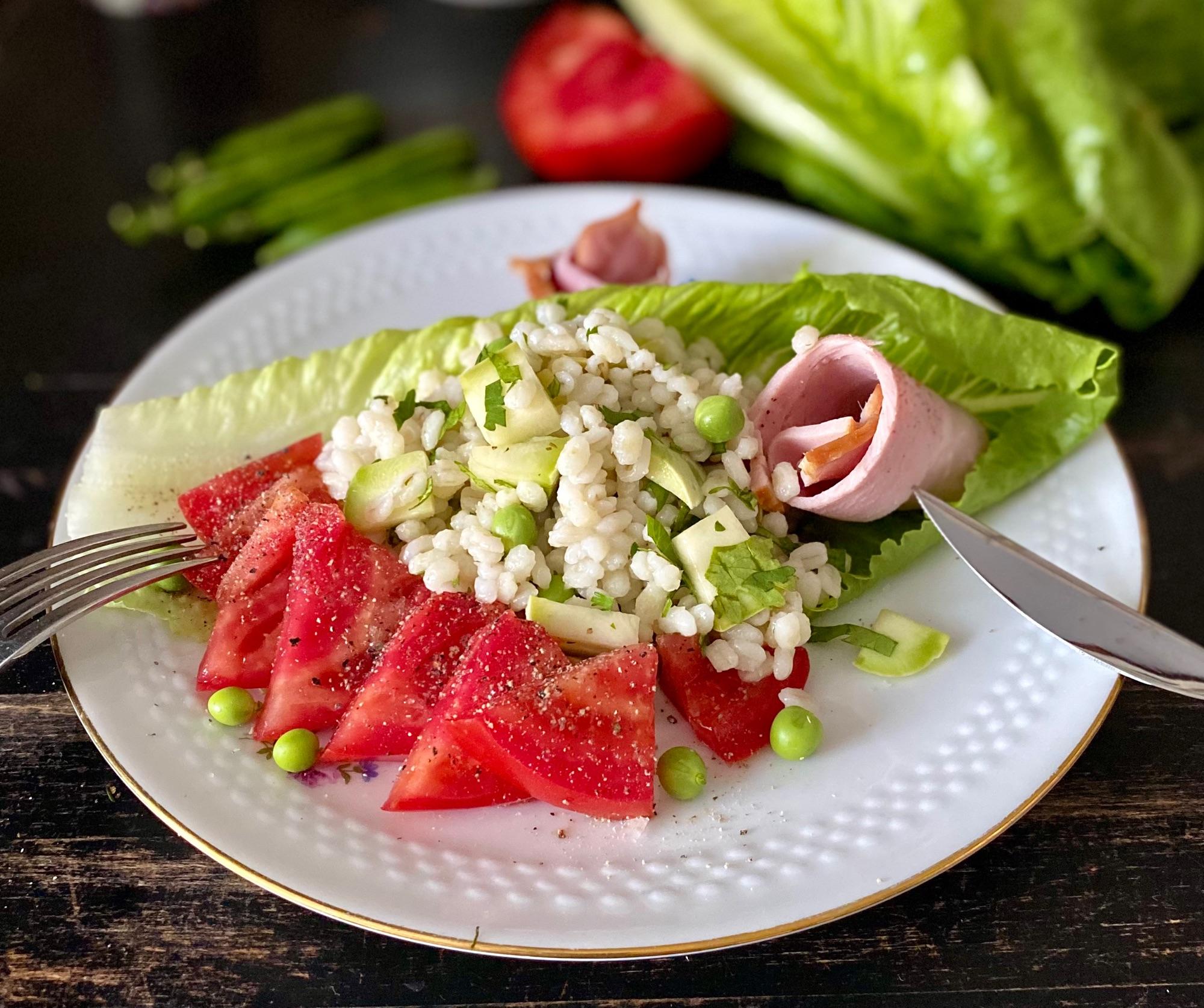 Салат-ужин, когла хочется полезного..