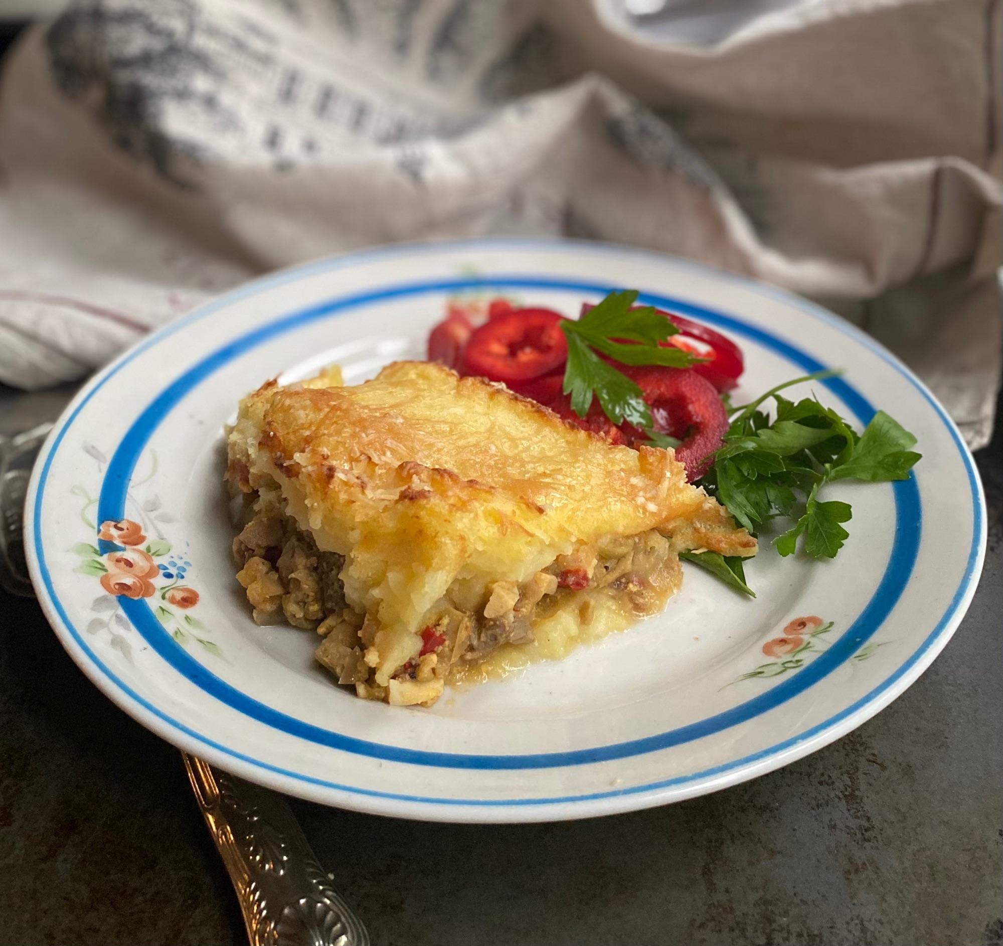Или английский коттежный пирог на аргентинский лад. Со своими изюминками.