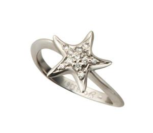 2 Коллекция Atenea, кольцо из белого золота с бриллиантами