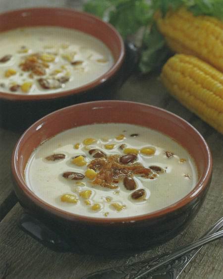 sup iz fasoli s kukuruzoy