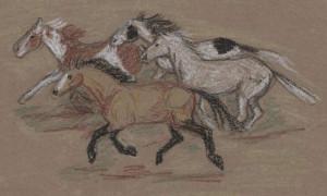 Aug-14-crayon-horse-herd.jpg