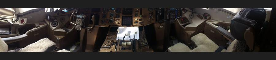 Кокпит 767-300