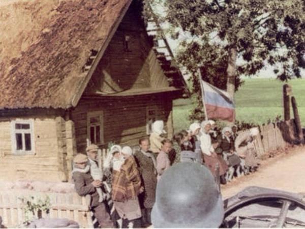 Станица некрасовская в 1941-1945