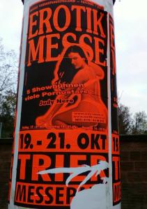 Объявление о секс-ярмарке в Берлине