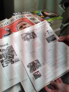 Нацисткие газеты в газетных киосках Германии (ноябрь 2012)