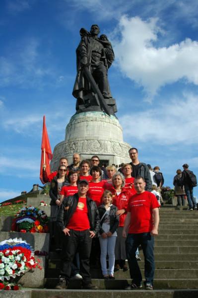 берлин памятник воину освободителю