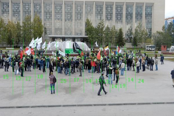 Марш «миллионов» в Новосибирске